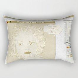 Pretty on the Inside Rectangular Pillow