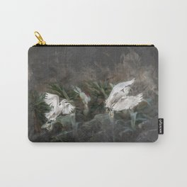 Little herons in flight Carry-All Pouch