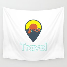 PinPointTravel Wall Tapestry