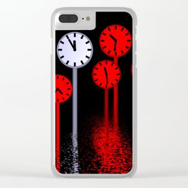 11th hour Clear iPhone Case