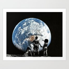 Approaching Ert Art Print