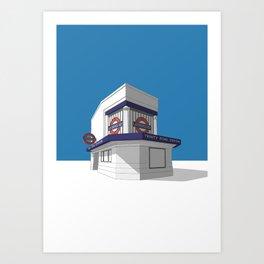 Trinity Road (Tooting Bec) Art Print
