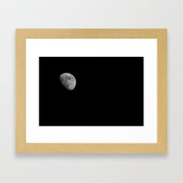 Only on a Clear Night Framed Art Print