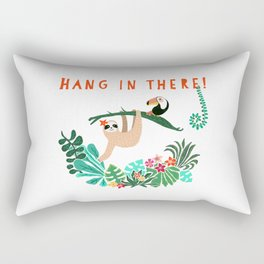 Hang in there! - Sloth Rectangular Pillow