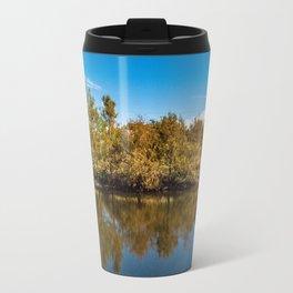 Straight Body of Water in Boca Travel Mug