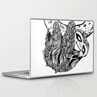 sloth Laptop & iPad Skins featuring Sloth  by Animaux Circus