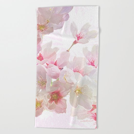 In Early Spring Beach Towel