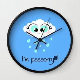 I'm psssorry! Wall Clock