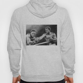 Thrilla in Manilla Pencil Drawing Hoody