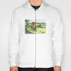 Golfer Bear Hoody