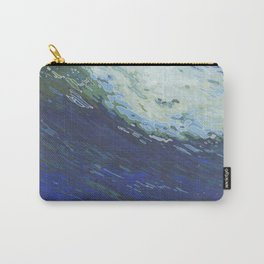Flexing Ocean Wave Carry-All Pouch