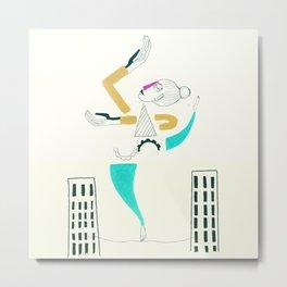 The air dancer-white version Metal Print