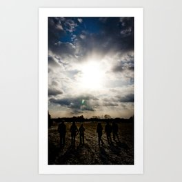 Open Space Art Print