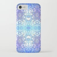 frozen iPhone & iPod Cases featuring Frozen Stars Periwinkle Lavender Blue by 2sweet4words Designs