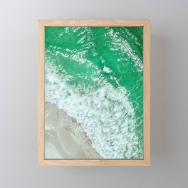 Emerald Sea Framed Mini Art Print