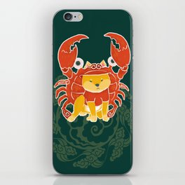 Crab Funny Dog Costume - Sea Collection iPhone Skin