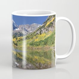Maroon Bells in Aspen, Colorado Coffee Mug