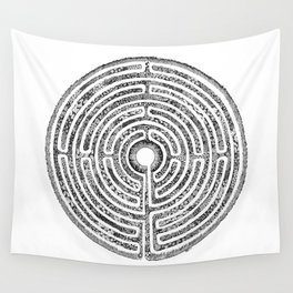 Chartres Garden Wall Tapestry