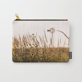 Sunflower Dreams & Windmill Memories... Carry-All Pouch