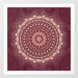 Crystalline Harmonics - Celestial Art Print