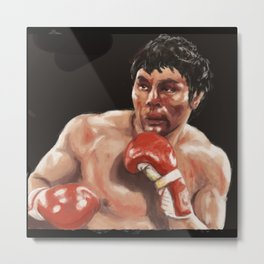 The argentinian boxer Metal Print