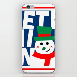 Let it Snow! iPhone Skin