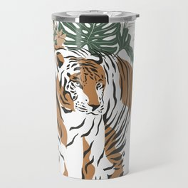 Magic Jungle Composition Tiger Travel Mug