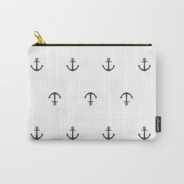 Many stamped black anchors Carry-All Pouch