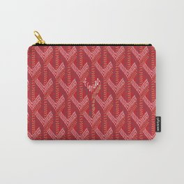 Goyard Red Carry-All Pouch