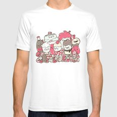 Sugar Overload Mens Fitted Tee White MEDIUM