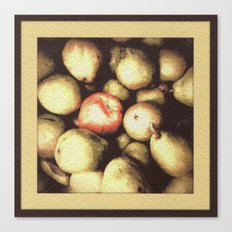 One Bad Apple... Canvas Print