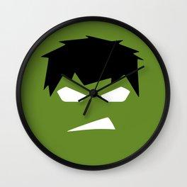The Hulk Superhero Wall Clock