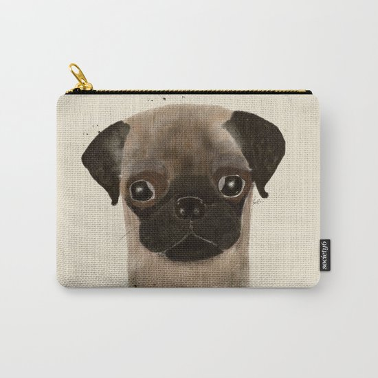 little pug Carry-All Pouch