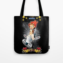 War Maiden - Fly Girl Tote Bag