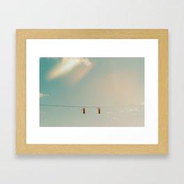 Wonderers or Wanderers Framed Art Print