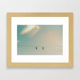 Wonderers or Wanderers Framed Art Print