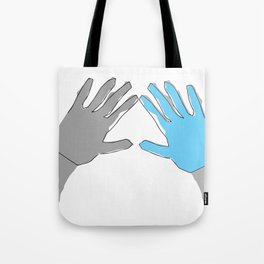 Perfection is Boring Tote Bag