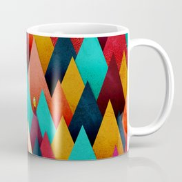 072 – deep into the autumn forest texture III Coffee Mug