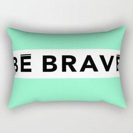 BE BRAVE Summer COLLECTION Mint Rectangular Pillow