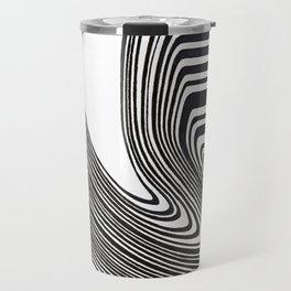 Spilled barcode Travel Mug