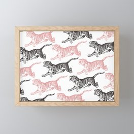 Tiger 3 Framed Mini Art Print