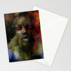 The Gospel singer Stationery Cards