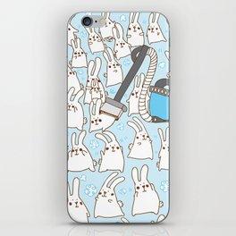 Dust bunnies iPhone Skin