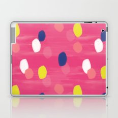 Spotty Pink Laptop & iPad Skin