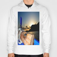 sunrise Hoodies featuring sunrise by  Agostino Lo Coco