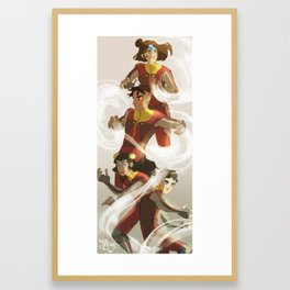 Airbabies...and kai Framed Art Print