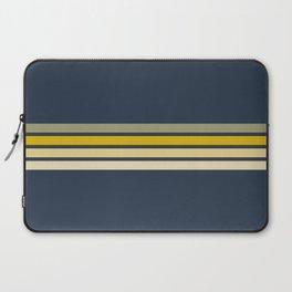 Racing Retro Stripes Laptop Sleeve