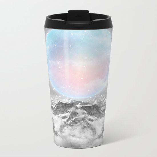 Places Neither Here Nor There (Guardian Moon) Metal Travel Mug