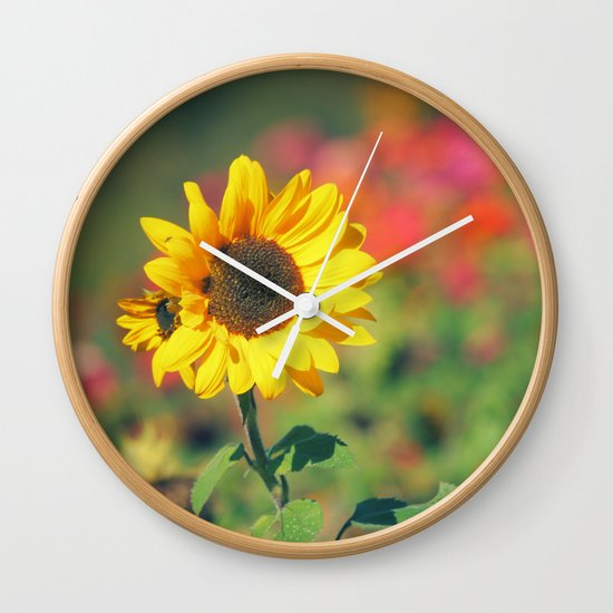 Bursting with Cheer Wall Clock