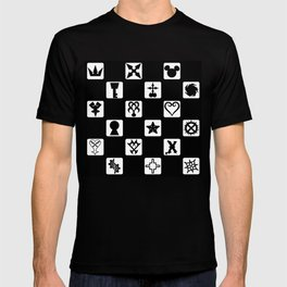 Kingdom Hearts Grid T-shirt